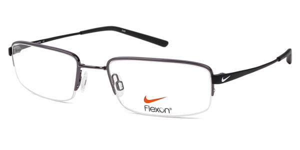 622c703069 Nike 4192 059 Eyeglasses in Gunmetal Silver Satin Black ...