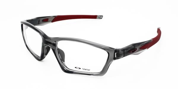 Óculos Graduados Oakley OX8031 CROSSLINK SWEEP 803106 Grey Smoke ... 159c749046