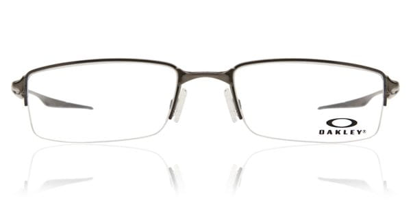 8327631cadb Oakley OX3119 HALFSHOCK 311904 Eyeglasses in Brushed Chrome Grey ...