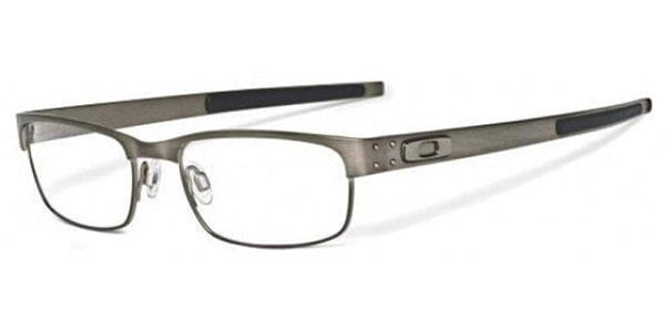 60ce4dd344 Oakley OX5038 METAL PLATE 503806 Eyeglasses in Brushed Chrome Grey ...