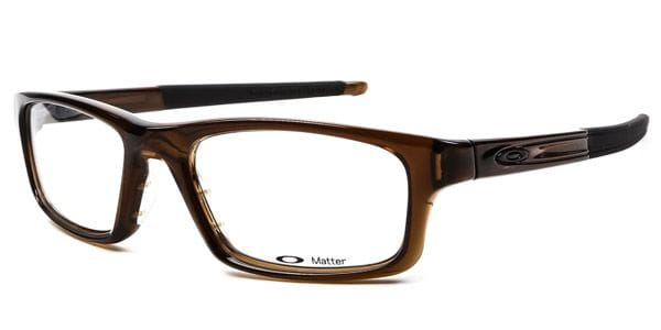 dc79699dfe Oakley OX8037 CROSSLINK PITCH 803703 Eyeglasses in Bark Brown ...