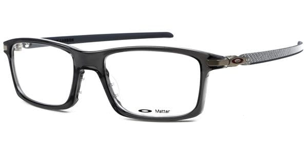 a40ac9cedc05 Oakley OX8092 PITCHMAN CARBON 809203 Glasses Grey | VisionDirect ...