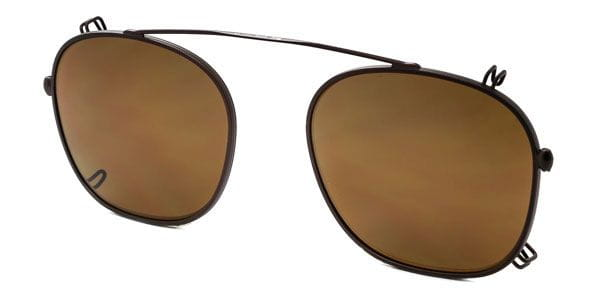 8d12ed7ee5 Persol PO3007C Clip-On only Polarized 962 83 Glasses Brown ...