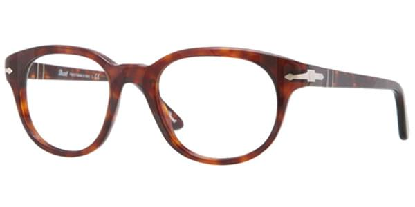 83c70c6f99 Persol PO3052V 24 Eyeglasses in Red Havana