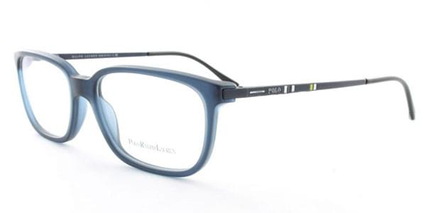f8d1bd3914c Polo Ralph Lauren PH2087 5276 Eyeglasses in Matte Dark Blue ...