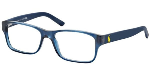 df7cf50f39c Polo Ralph Lauren PH2117 5470 Eyeglasses in Navy Blue ...