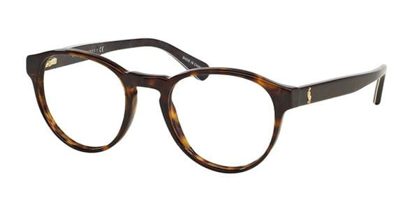 aaf4fe006e Polo Ralph Lauren PH2128 Tartan 5491 Eyeglasses in Dark Havana ...