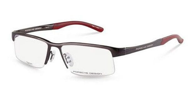 467425f9da5a Porsche Design P8166 D Glasses Dark Grey