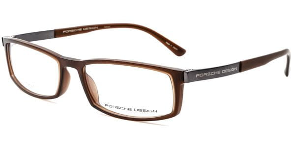 1cebf8e591f40 Porsche Design P8240 C Glasses Dark Brown
