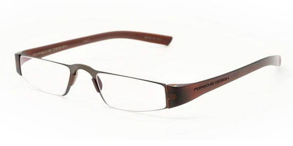 46e30ca8c Porsche Design P8801 E +1.0 Eyeglasses in Brown | SmartBuyGlasses USA