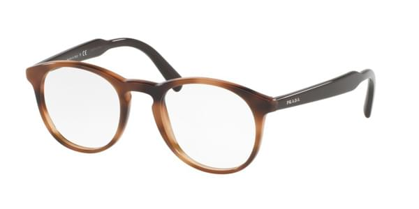 d2fa0a50563 ... Pr 19svf Eyeglasses U6j1o1 Brown EAN 8053672619959 product image for Prada  Eyeglasses PR19SVF Asian Fit U6J1O1
