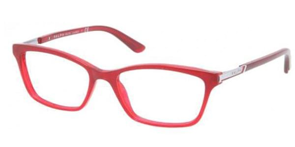Ralph by Ralph Lauren RA7044 1137 Glasses Transparent Red ... 8c63a523ab