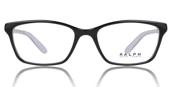 0a5527e6df48 Ralph by Ralph Lauren RA7044 1139 Eyeglasses in Black White ...