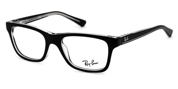 0c2f3064ce Ray-Ban Junior RY1536 3529 Glasses Top Black On Transparent ...