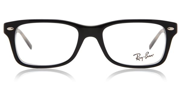 32ec655fe2 Ray-Ban Junior RY1531 3529 Glasses Top Black Transparent ...