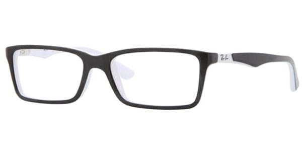 40fd4e6f0e1 Ray-Ban Junior RY1534 3579 Eyeglasses in Top Black On White ...
