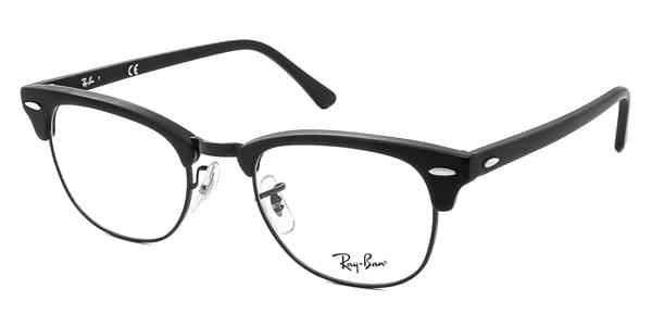 Ray-Ban RX5154 Clubmaster 2077 Eyeglasses in Matte Black ... 14453d669103