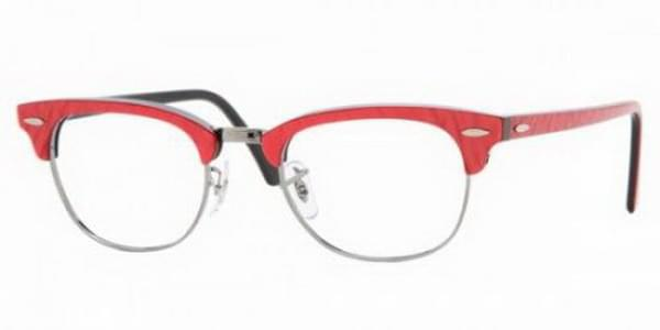 cba6ec87d2 Ray-Ban RX5154 Clubmaster 2373 Eyeglasses in Red