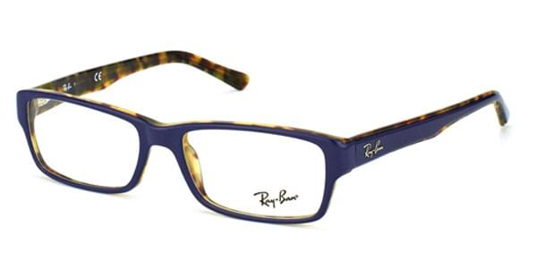 77c4c2344e Ray-Ban RX5169 Highstreet 5219 Glasses Top Blue On Havana ...