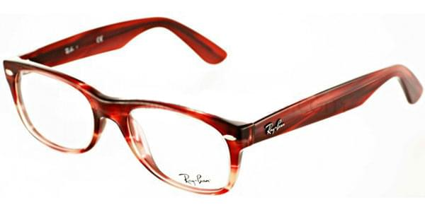 a50ee3866f Ray-Ban RX5184 New Wayfarer 5140 Glasses Striped Red