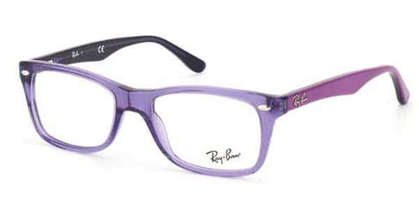 ff1169fdc1 Ray-Ban RX5228 Highstreet 5230 Eyeglasses in Transparent Violet ...