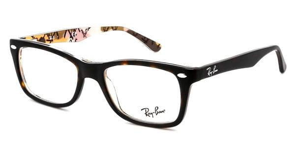 cf1a64fe75dc17 Lunettes Ray-Ban RX5228 Highstreet 5409 Top Havana On Texture ...