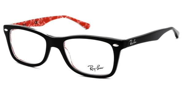 Lunettes Ray-Ban RX5228F Highstreet Asian Fit 2479 Top Black ... 34f431d927dc