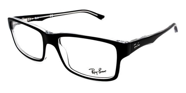 3390aaa6570 Ray-Ban RX5245 Highstreet 2034 Glasses Clear