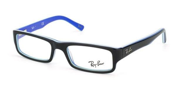 e5d17da38a Ray-Ban RX5246 Youngster 5151 Glasses Top Black on Multilayer ...