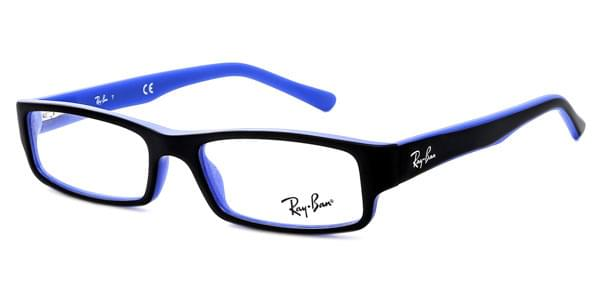 0265db4e83 Ray-Ban RX5246 Youngster 5224 Glasses Top Black On Matte Blue ...