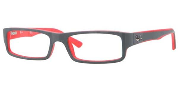 e526763aadc Ray-Ban RX5246 Youngster 5225 Glasses Top Grey On Matte Red ...