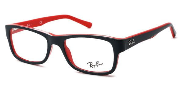 c5df36107a Ray-Ban RX5268 Youngster 5180 Eyeglasses in Top Grey On Red ...