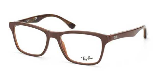 dc849d5bc63 Ray-Ban RX5279 Highstreet 5226 Glasses Top Brown on Variegated Brown ...