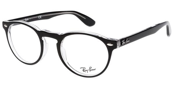 24c1d6d621 Ray-Ban RX5283 Icons 2034 Eyeglasses in Black Crystal ...