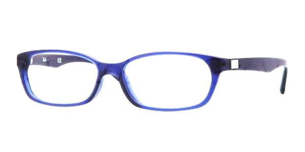 043f46f099 Ray-Ban RX5291D Asian Fit 5213 Eyeglasses in Matte Blue ...
