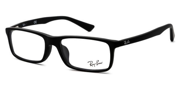 c063e44586adb Ray-Ban RX5292D Asian Fit 2477 Eyeglasses in Matte Black ...
