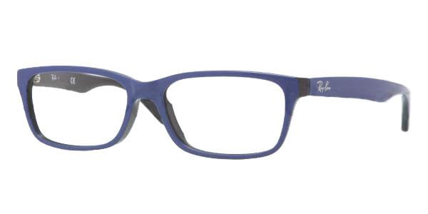 adeb2a0374 Ray-Ban RX5296D Asian Fit 5185 Glasses Top Blue On Black ...
