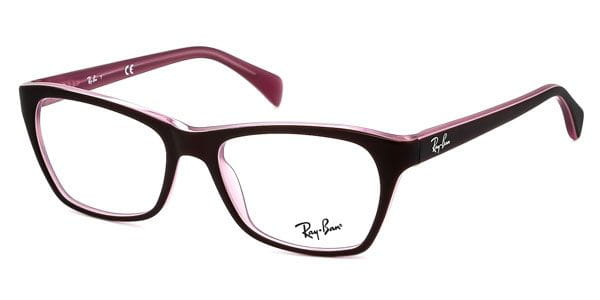 6e719ca4e30 Ray-Ban RX5298 Highstreet 5386 Eyeglasses in Top Matte Brown On Opal ...