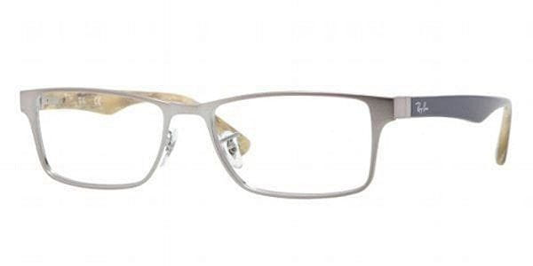 85b79297adb1 Ray-Ban RX6238 Highstreet 2553 Glasses Brushed Gunmetal ...