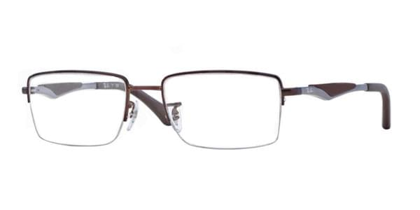 4e8be3c0736 Ray-Ban RX6285 Active Lifestyle 2758 Glasses Dark Matte Brown ...