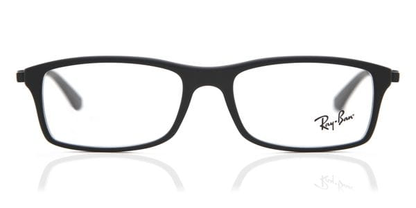 dc4f47ea98e47 Ray-Ban RX7017 Active Lifestyle 5196 Eyeglasses in Matte Black ...