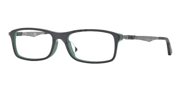 c5a9e6924a Ray-Ban RX7017F Active Lifestyle Asian Fit 5227 Glasses Top Black On ...