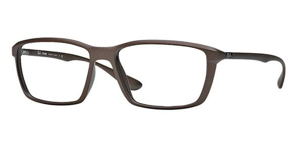 4ccdecebdf5 Ray-Ban RX7018 Liteforce 5205 Glasses Matte Brown