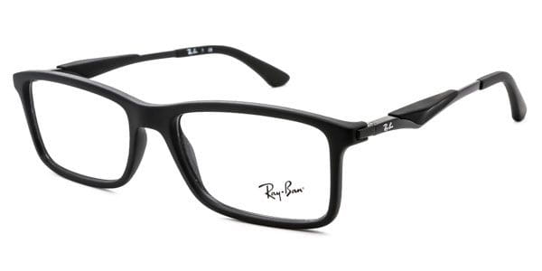 1216c9c5cc2 Ray-Ban RX7023 Active Lifestyle 2077 Eyeglasses in Matte Black ...