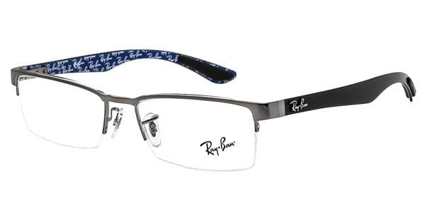 511a09beb05 Ray-Ban Tech RX8412 Carbon Fibre 2502 Glasses Gunmetal Grey ...