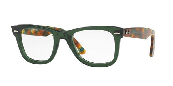 777584859c Lentes Opticos Ray-Ban RX5121 Original Wayfarer 5630 Verde ...