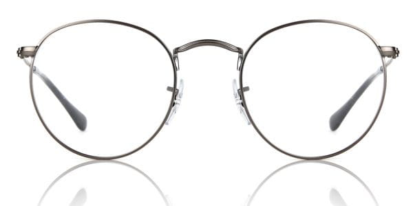 330d438672 Ray-Ban RX3447V Round Metal 2620 Glasses Grey