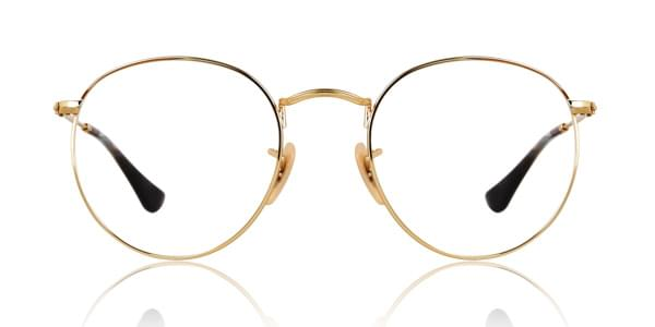 e87b8d304b5e8d Ray-Ban RX3447V Round Metal 2500 Glasses Gold   SmartBuyGlasses UK