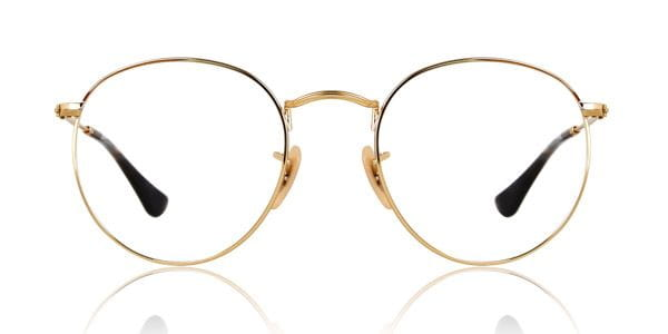 3238ac196e9f6 Ray-Ban RX3447V Round Metal 2500 Glasses Gold