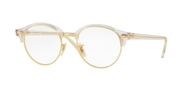 Ray-Ban RX4246V ClubRound 5762 Glasses Clear   SmartBuyGlasses India 5a50e6d7f7f5